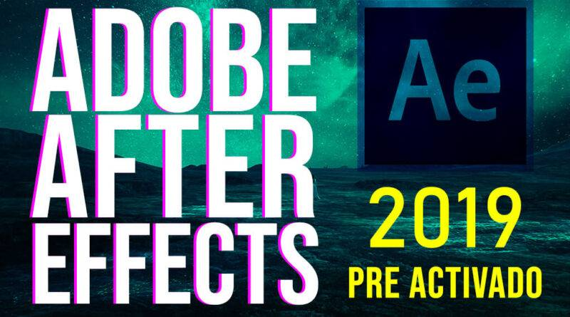 ADOBE affter effects