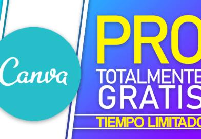 ✅ Obtén Canva Pro Totalmente gratis!