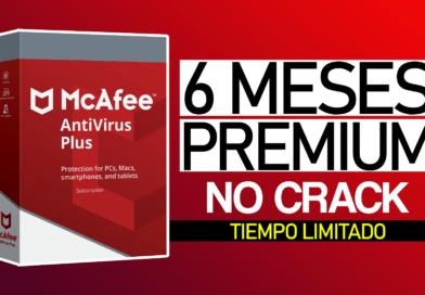 💻 Obtén Antivirus McAfee 6 Meses Premium 2020 Totalmente gratis