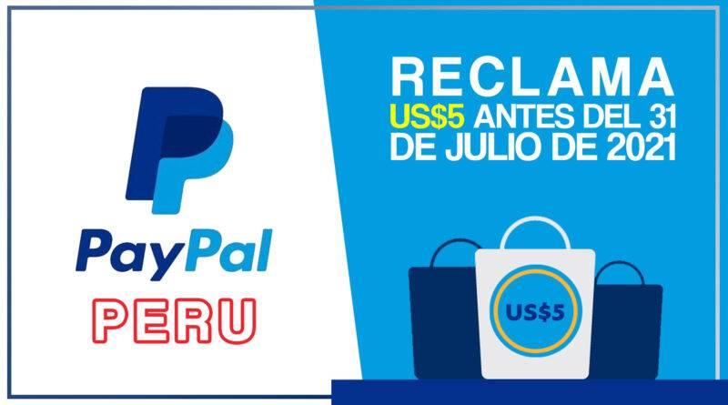 ✅ Obtén 5💲 en PayPal 🤑 solo PERÚ